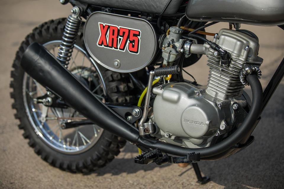 1973 Honda XR75 Frame no. XR75 1010942 Engine no. XR75E1010992