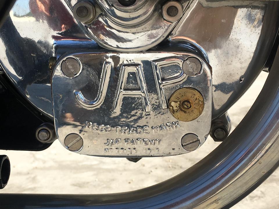 1930 Montgomery JAP 750cc Sidevalve, Frame no. T093 Engine no. MT/W868/S