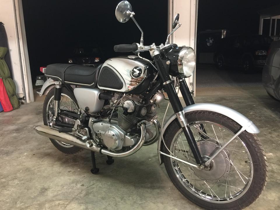 1965 Honda CB77 Superhawk Frame no. CB77 1024321 Engine no. CB77E 1024396