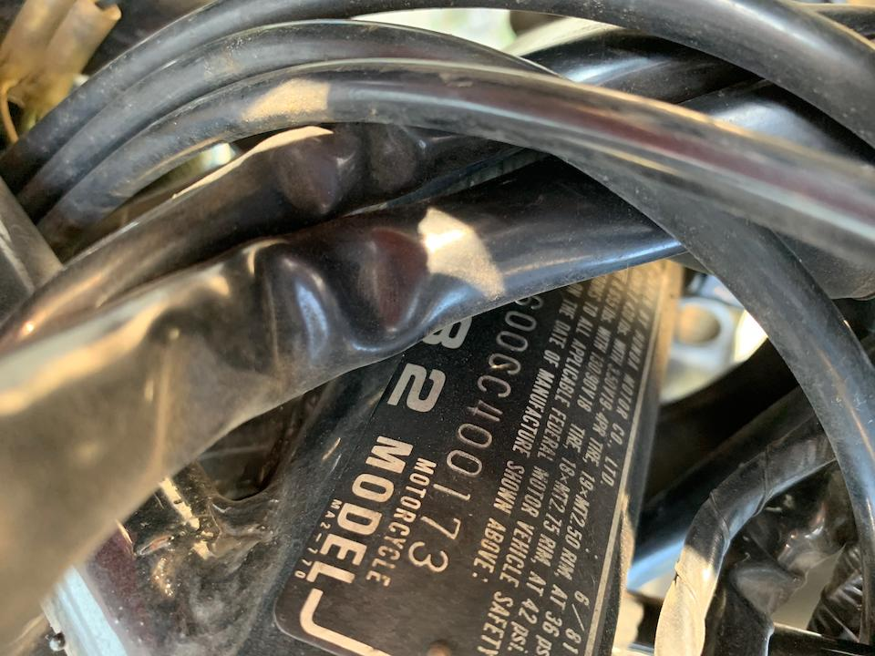 1982 Honda CBX1000 Frame no. JH2SC0600CC400173 Engine no. SC03E-2100105