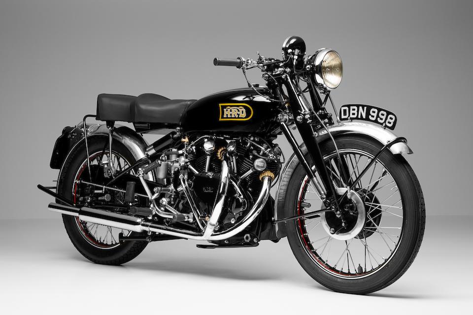 1949 Vincent 998cc Black Shadow Series-C