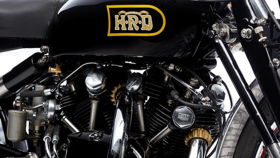 1949 Vincent 998cc Black Shadow Series C Frame no. RC4240B Engine no. F10AB/1B/2340