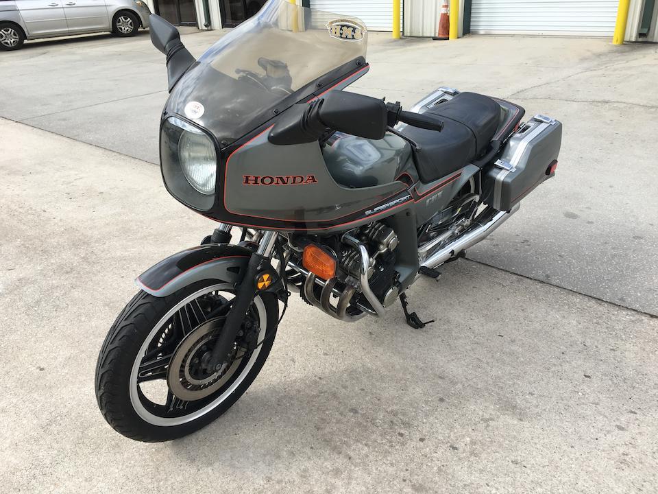 1981 Honda CBX1000 Touring Frame no. JH2SC0600CC400173 Engine no. SC03E-2400105