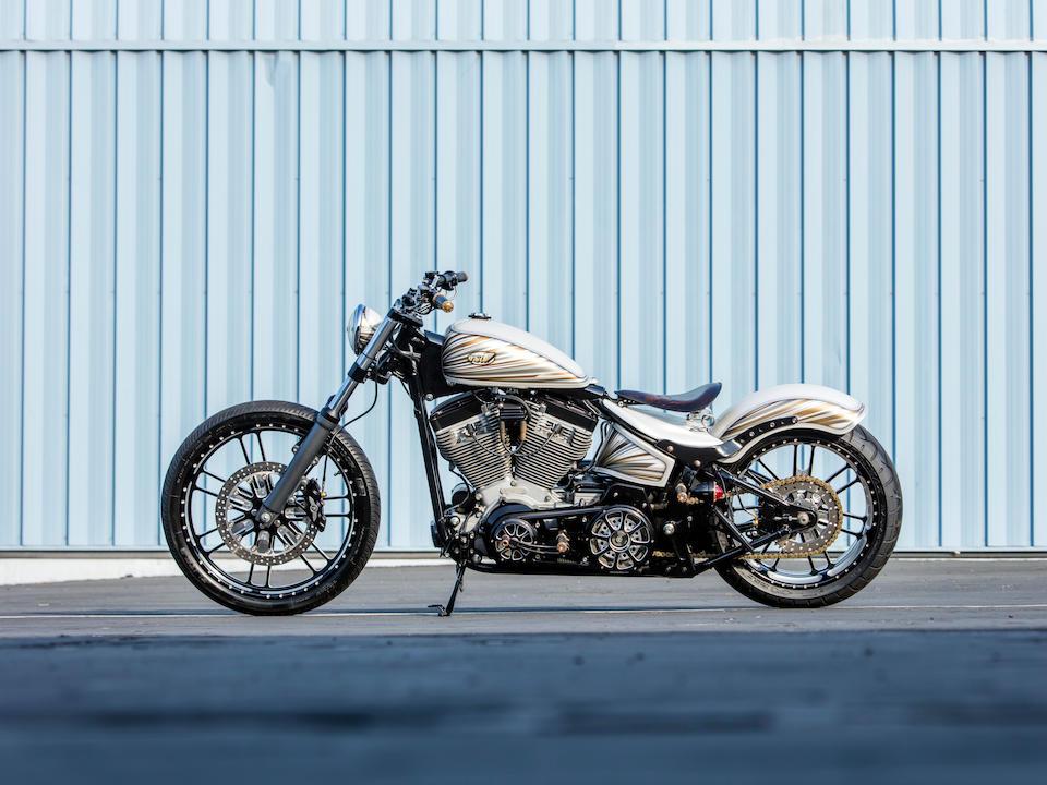 2010 Harley-Davidson 'Whitey' by Roland Sands Frame no. 1HD1BV5177Y076158 Engine no. BV57076158