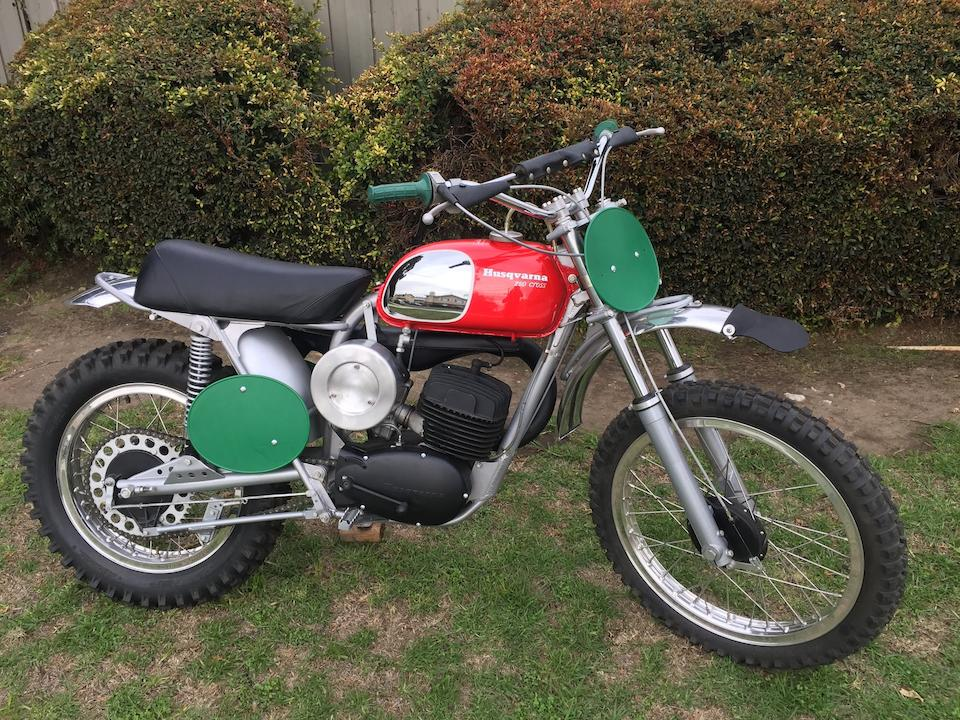 Ex-Bruce Brown,1970 Husqvarna 250cc Cross Frame no. MH2595 Engine no. 252511