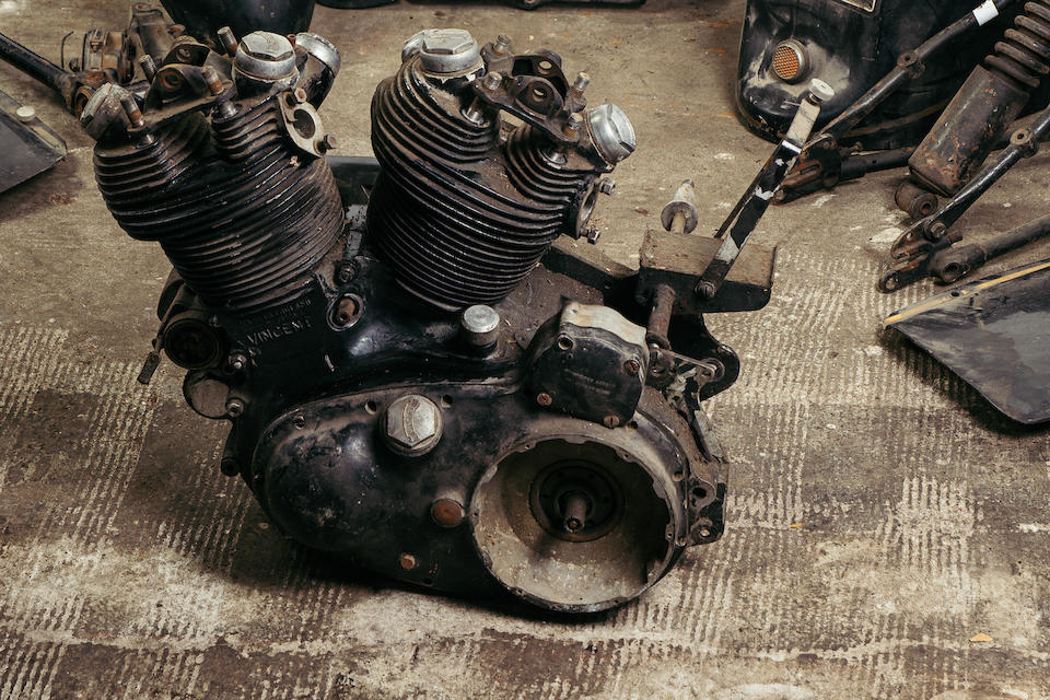 1955 Vincent 998cc Black Prince Project Frame no. Upper: RD12894B/F, Rear: RD12794B/F Engine no. F10AB/2B/10994