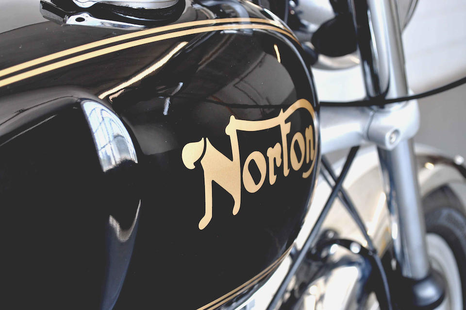 As built by NYC Norton,1973 Norton 750 Commando Roadster Frame no. 235155 Engine no. 235155