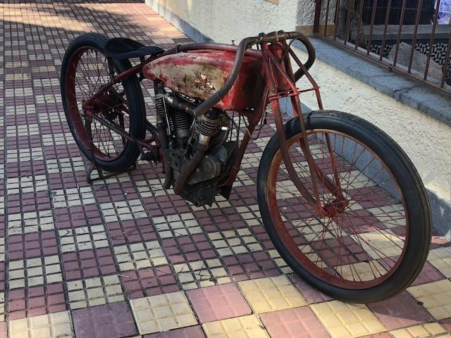 1916 Excelsior 61ci Super X Board Track Racing Motorcycle Engine no. 83659