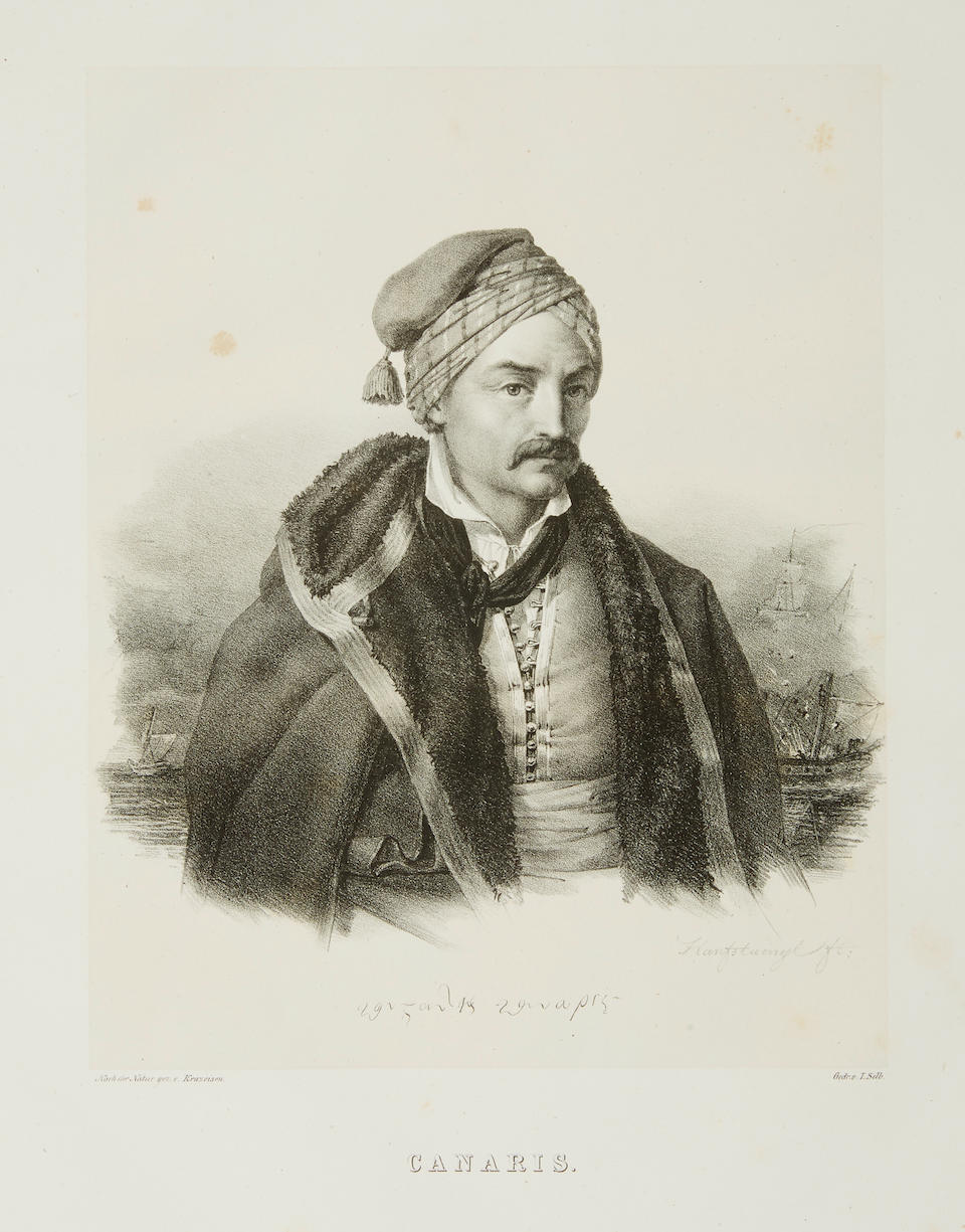 KRAZEISEN, KARL. 1794-1878. Bildnisse ausgezeichneter Griechen und Philhellenen. [Munich: printed for the author, 1828-1831.]
