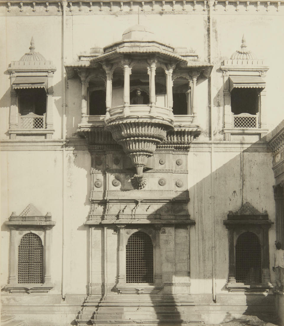 VIEWS OF INDIA. A collection of 72 photographs of Indian architecture and scenery,