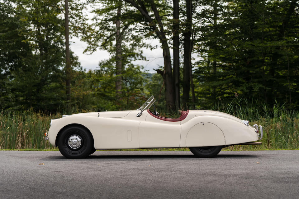 <b>1951 Jaguar XK120 Roadster</b><br />Chassis no. 671497<br />Engine no. W3566-8 (see text)