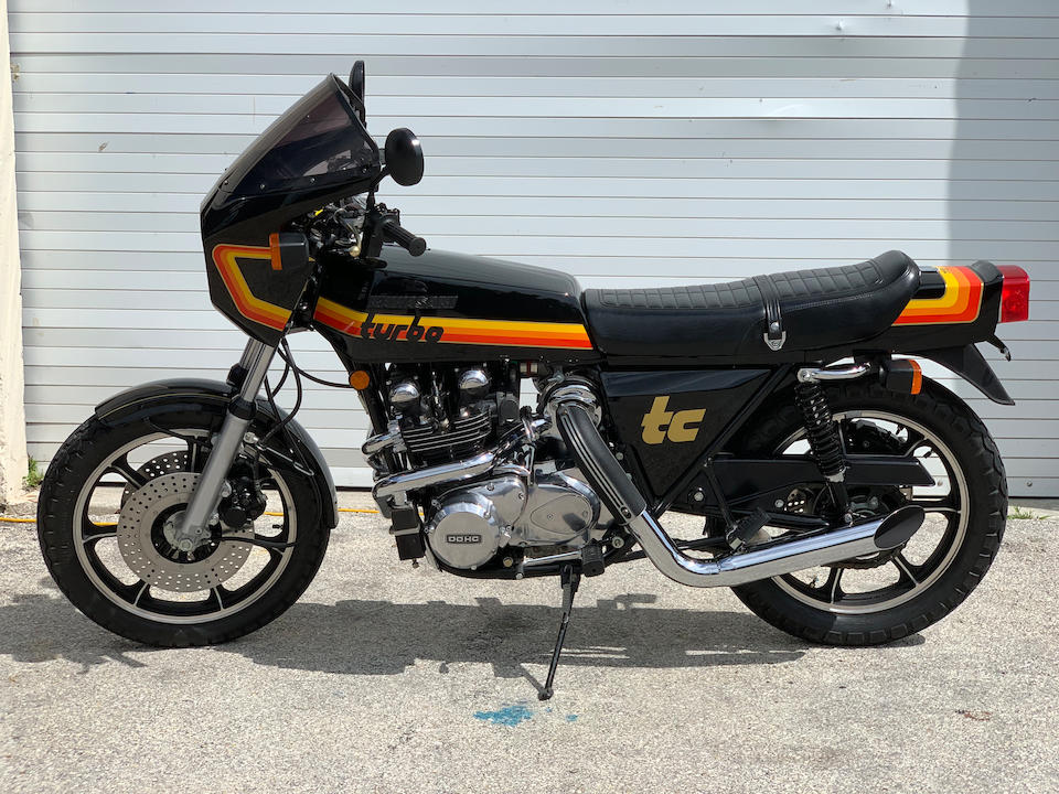 1978 Kawasaki Z1R-TC Black Molly Frame no. KZT00D003309 Engine no. KZT00DE003424