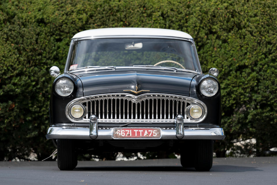 <b>1957 Simca Vedette Versailles</b><br />Chassis no. 202056