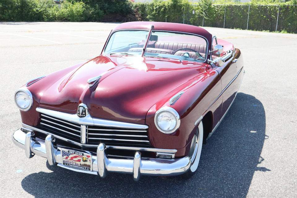<b>1948 Hudson Commodore Convertible Brougham</b><br />Chassis no. 48111