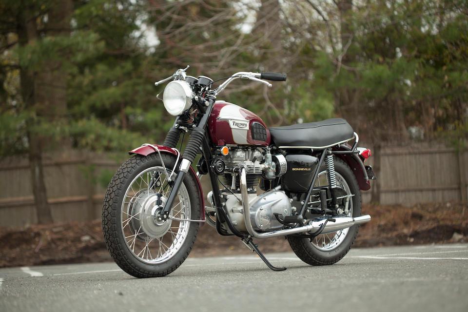 1970 Triumph T120R Bonneville, Frame no. ND30662 T120R Engine no. ND30662 T120R