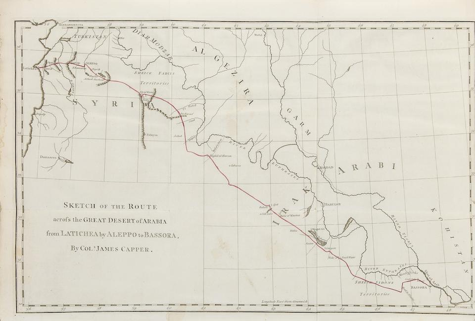 INDIA: ENGLISH ACCOUNTS. 1. IVES, EDWARD. 1719-1786. A Voyage from England to India, in the Year MDCCLIV.... London: Edward and Charles Dilly, 1773.