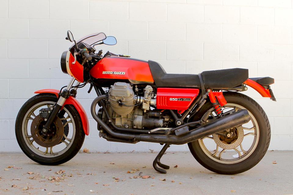 1978 Moto Guzzi LeMans mkI, Frame no. VP74848 Engine no. VE*074848*