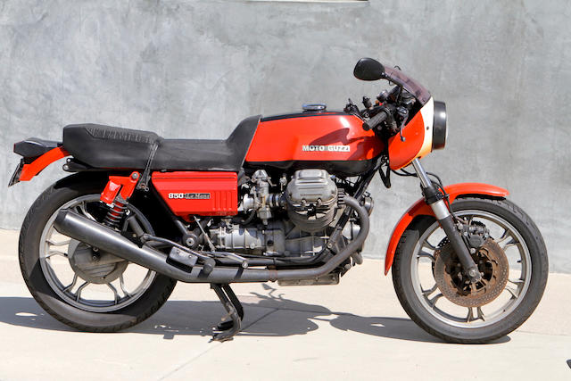 1978 Moto Guzzi LeMans mkI, Frame no. VP74848 Engine no. VE*074848*