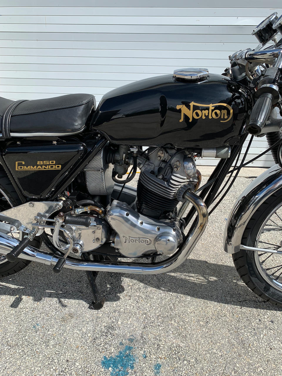 1973 Norton 850 Commando , Frame no. 301058 Engine no. 301058