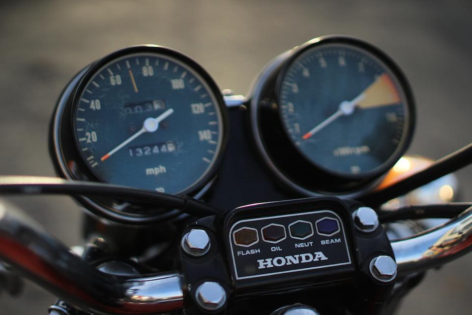 1972 Honda CB750 K2 Frame no. CB750-2012148 Engine no. CB750E-2019838