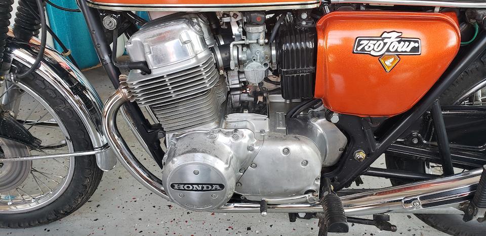 1974 Honda  CB750 K4 Frame no. CB750-2327138 Engine no. CB750E-2330734