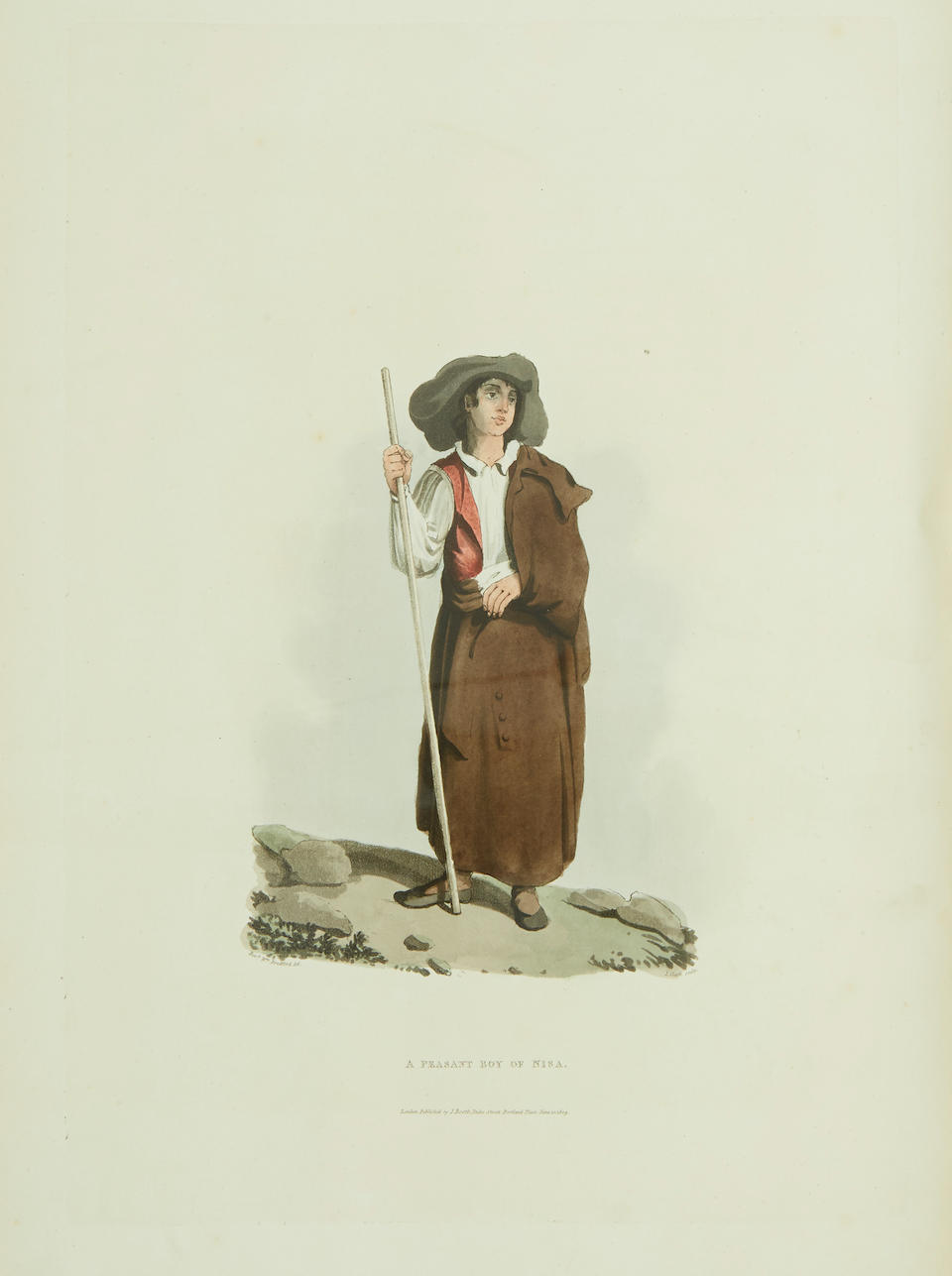 BRADFORD, WILLIAM. 1779-1857. Sketches of the Country, Character, and Costume, in Portugal and Spain, Made during the Campaign, and on the Route of the British Army, in 1808 and 1809. London: John Booth, 1809-1810.