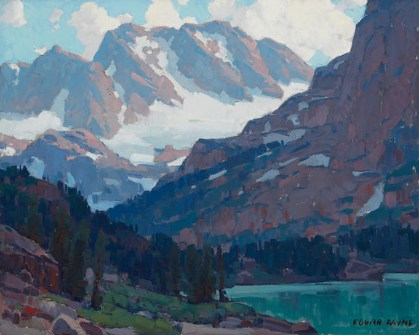 Edgar Payne (1883-1947) Mountain Vista 40 x 50in