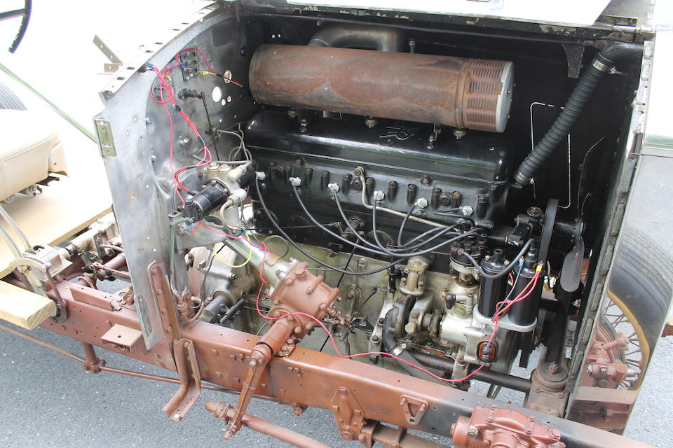 <b>1936 Rolls-Royce 25/30 Chassis</b><br />Chassis no. GLP36<br />Engine no. B24G