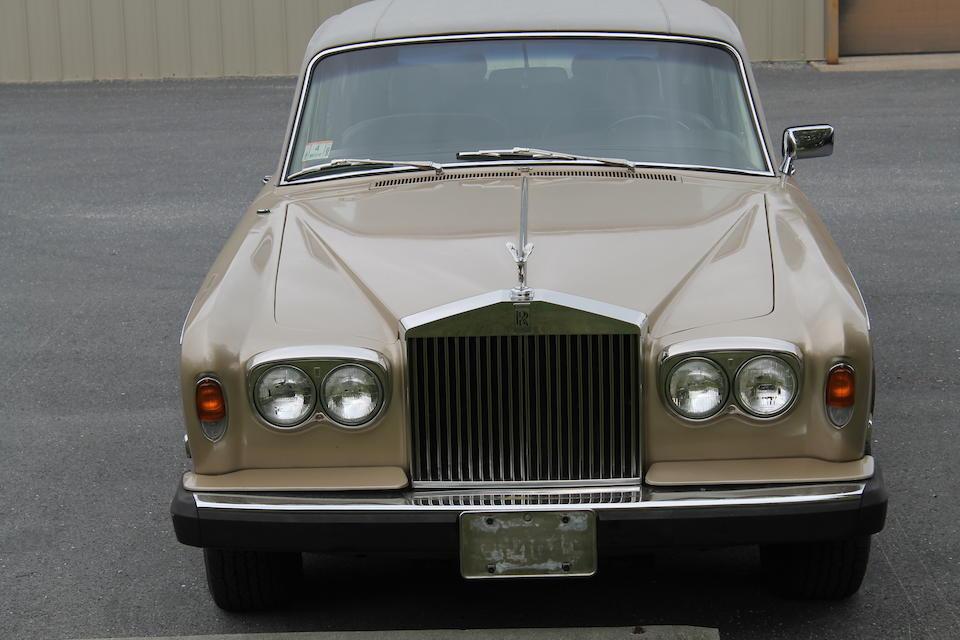<b>1977 Rolls-Royce Silver Shadow Sedan</b><br />Chassis no. LRF31638<br />Engine no. 31638