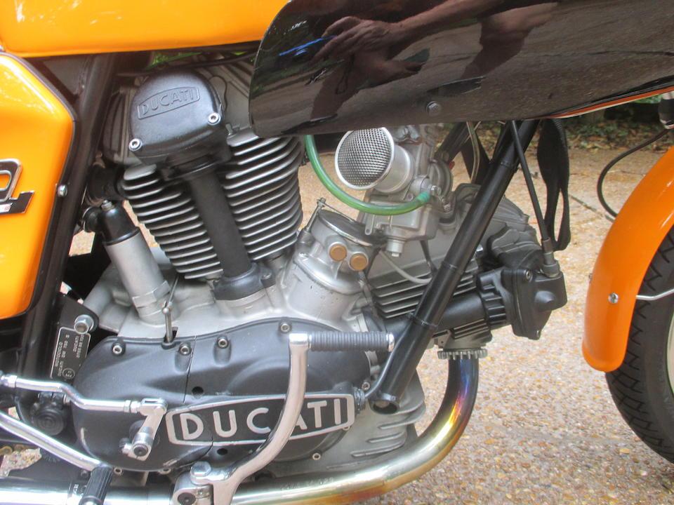 1973 Ducati 750-S Frame no. DM750S 753343 Engine no. 753124 DM750