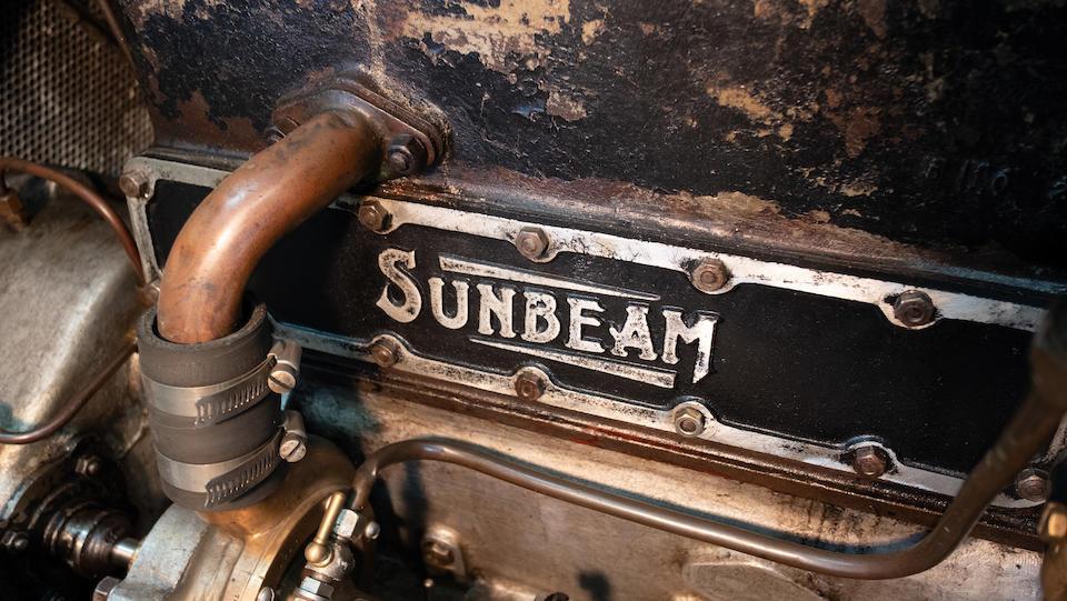 <b>1921 Sunbeam 24/70 Four-Passenger Tourer</b><br />Chassis no. 7066<br />Engine no. 7066<br />Body no.2500