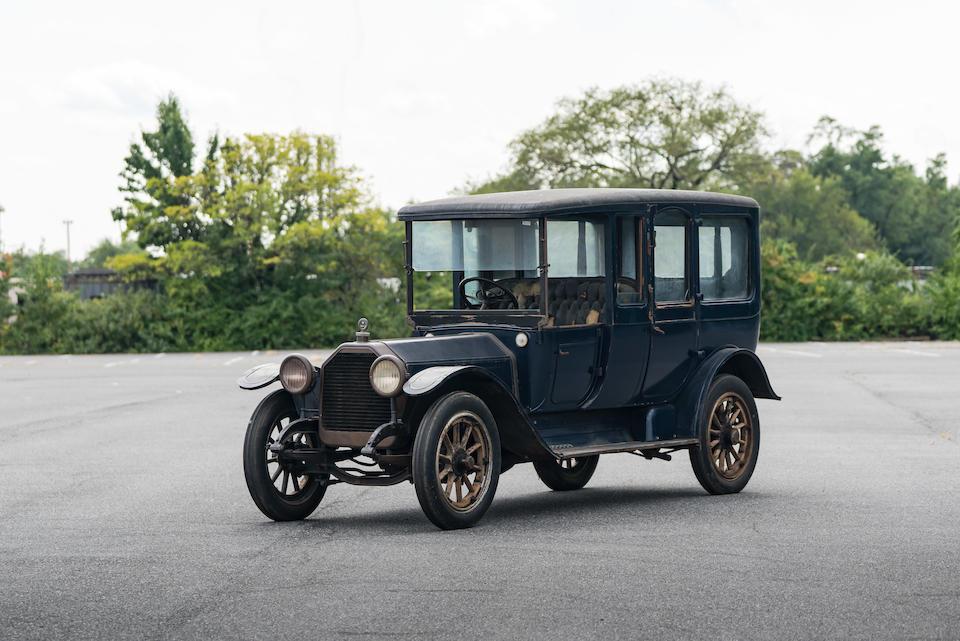 <b>1914 Peerless Model 48 Town Car</b><br />Chassis no. 142276