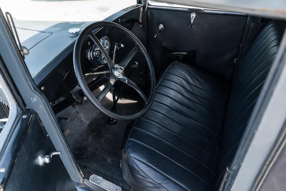 <b>1929 Ford Model A Sport Coupe</b><br />Engine no. A2001020