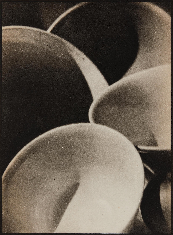 Paul Strand (1890-1976); Bowls, Connecticut;