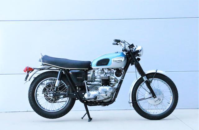 1968 Triumph 650cc TR6C Frame no. DU70034 Engine no. E6305