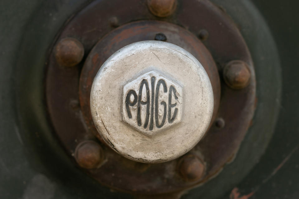 <b>c.1923 Paige Model 6-70 Touring</b><br />Engine no. 8AP-130714