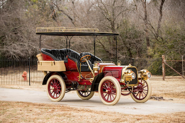 <b>c.1904 Pope-Toledo 24HP Four-Cylinder Rear Entrance Tonneau</b><br /> Engine no. 2444