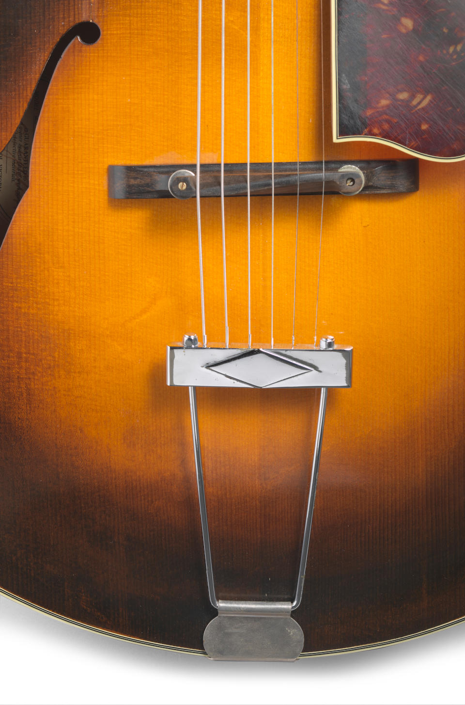 A GILCHRIST L5 ARCHTOP ACOUSTIC GUITAR OWNED AND PLAYED BY JERRY GARCIA