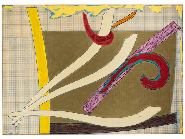 Frank Stella (born 1936); Bermuda Petrel;