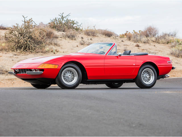 1972 Ferrari 365 GTS/4 Daytona Spider  Chassis no. 16473 Engine no. B2332
