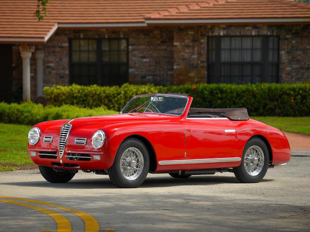 1949 Alfa Romeo 6C 2500 Super Sport Cabriolet  Chassis no. 915811 Engine no. SS928114