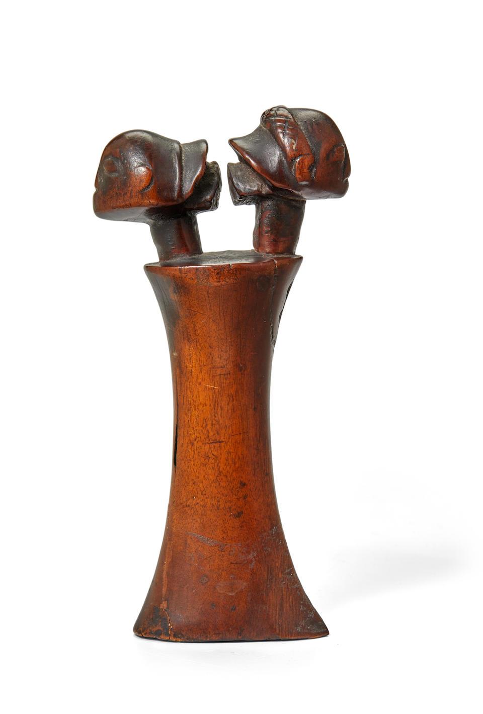 Luba Shankadi Knife Handle, Democratic Republic of the Congo