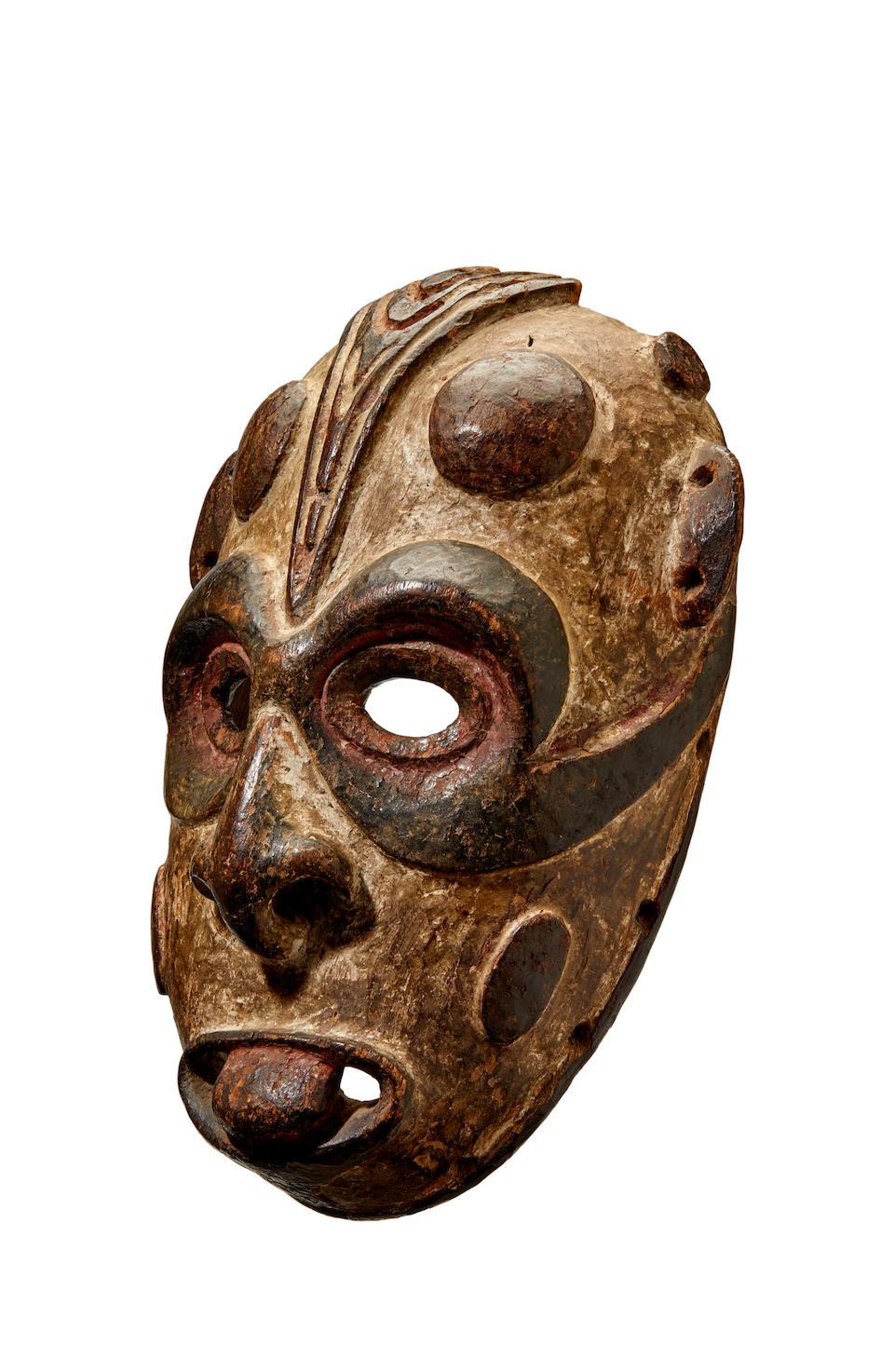 Biwat Mask, Yuat River Region, Lower Sepik, Papua New Guinea