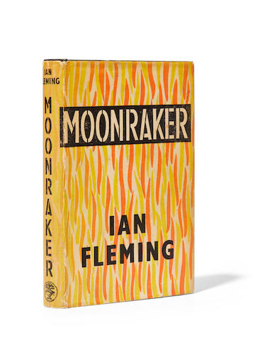 FLEMING, IAN. 1908-1964. Moonraker. London: Jonathan Cape, 1955.