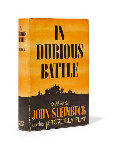 STEINBECK, JOHN. 1902-1968. In Dubious Battle. New York: Covici Friede, (1936).