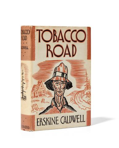 CALDWELL, ERSKINE. 1903-1987. Tobacco Road. New York: Charles Scribner's Sons, 1932.