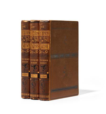 HARDY, THOMAS. 1840-1928. The Return of the Native.  London: Smith, Elder, & Co., 1878.