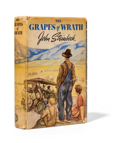 STEINBECK, JOHN. 1902-1968. The Grapes of Wrath. New York: Viking Press, 1939.