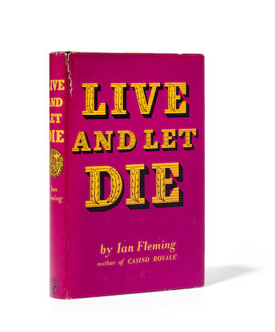 FLEMING, IAN. 1908-1964. Live and Let Die. London: Jonathan Cape, 1954.