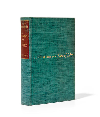 STEINBECK, JOHN. 1902-1968. East of Eden.  New York: The Viking Press, 1952.